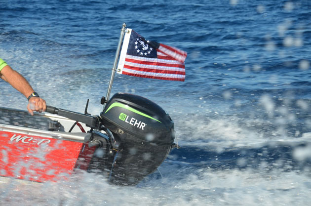 Lehr propane outboard