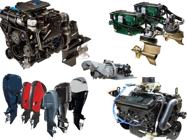 Boat Motors: Outboards, Inboards, Pod Drives, Stern Drives, and Jets
