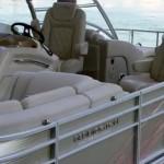 Bennington 2575 first look video pontoon boat tritoon