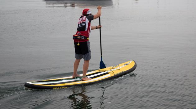 Carol-paddling-Naish