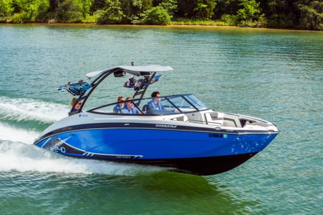 Yamaha-AR240-running