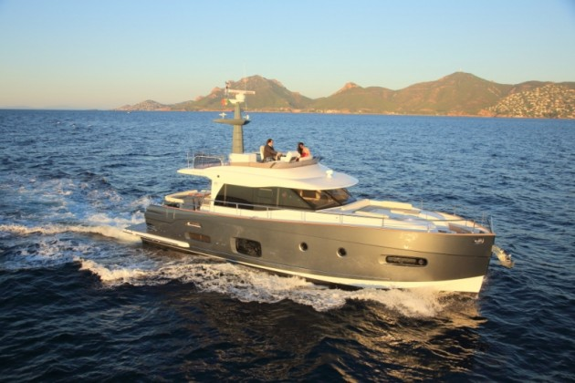 The Azimuth Magellano 53 is about as elegant as a passage-making yacht gets.