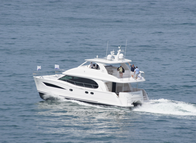 The Horizon PC52 has spaces that rival those of megayachts, but in a much smaller package.