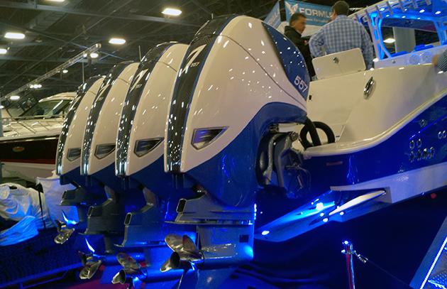 Hydra-sports quad outboards