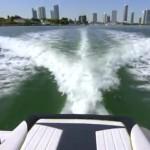 Volvo-penta forward drive test run video