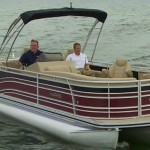 Harris Solstice 240 pontoon boat review