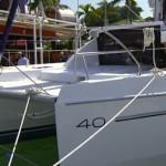 Leopard 40 catamaran first look video