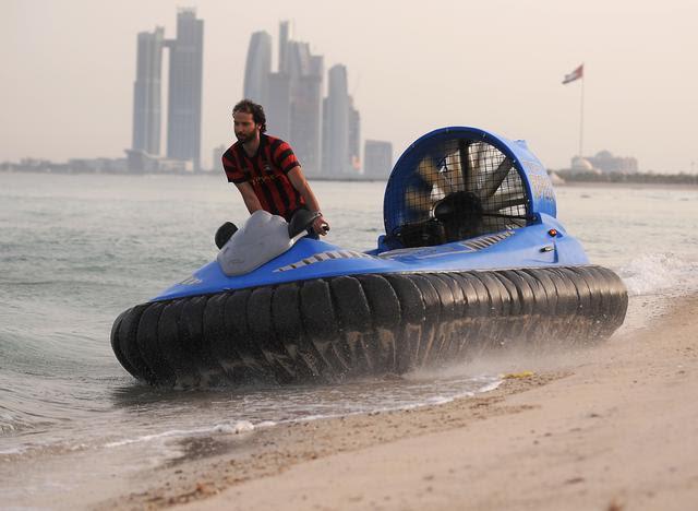 5 Aéroglisseur cool: des bateaux volants pour le plaisir