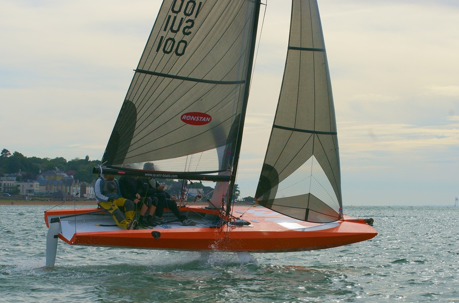 Quant 23 Proves Foiling Keelboats Are Possible
