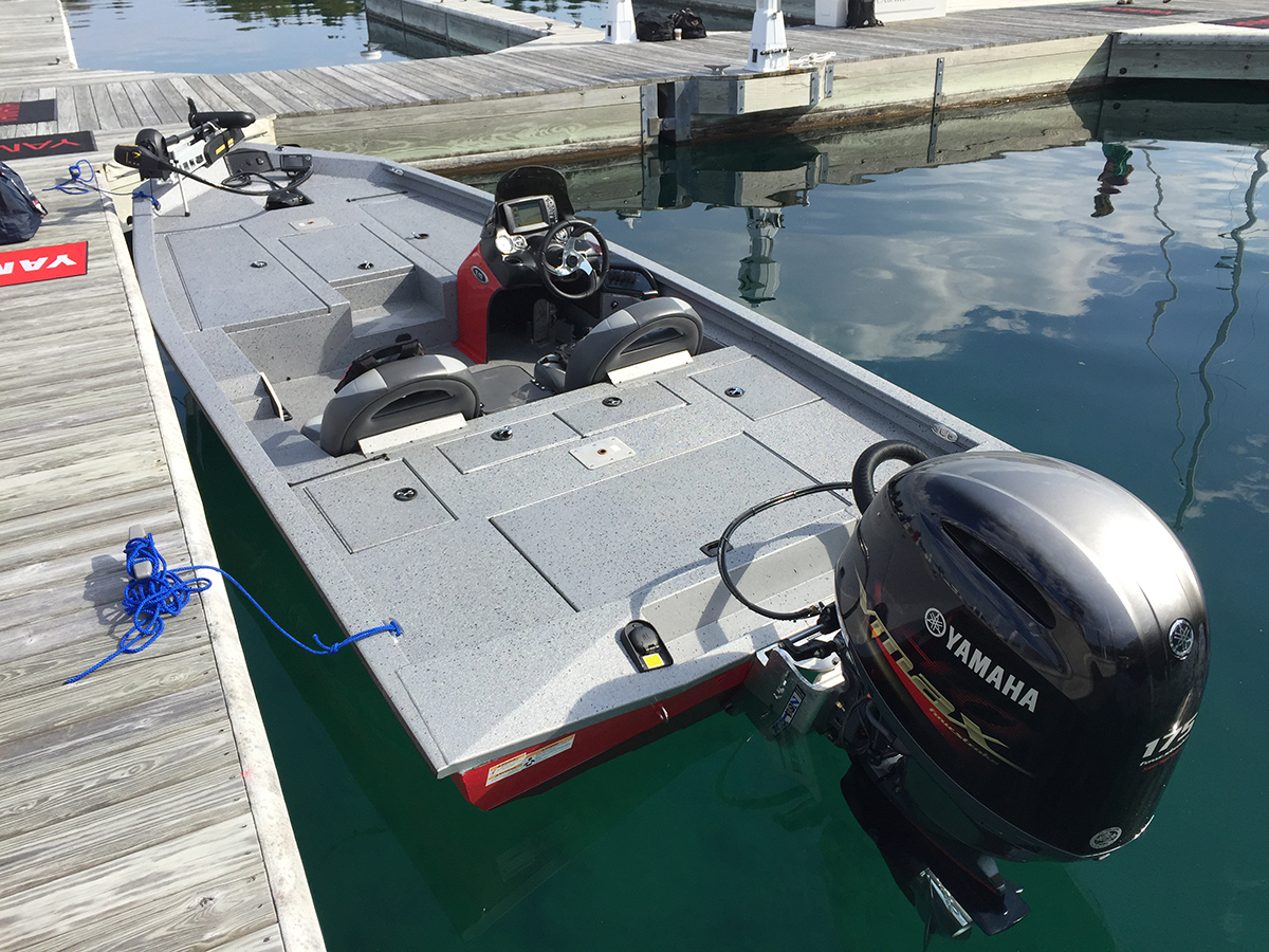 The Xpress X19 is a virtual floating tackle box, with fishing features tucked into every nook and cranny.