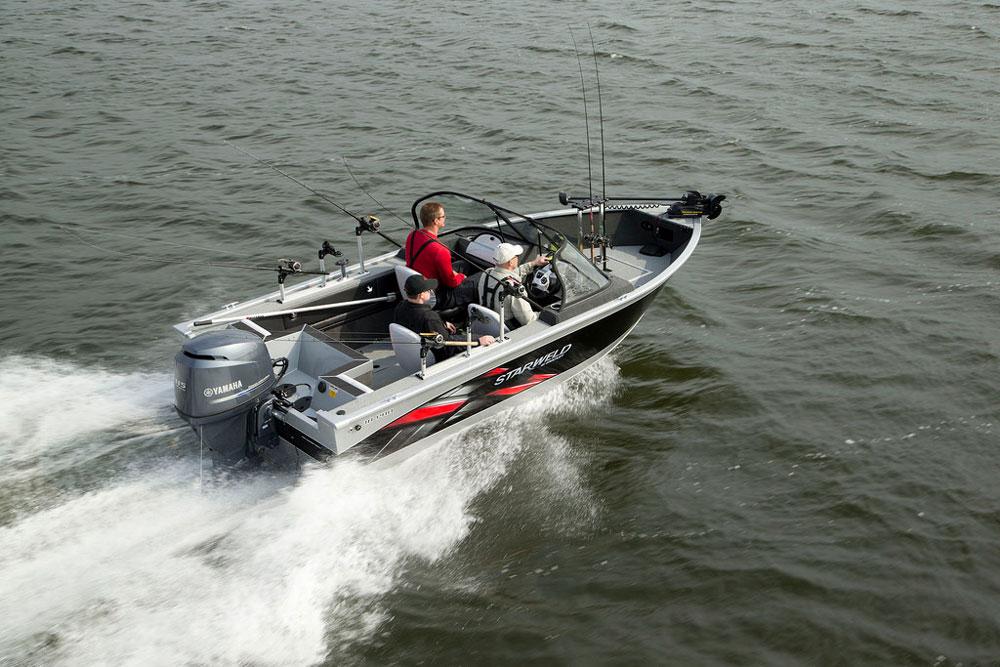 freshwater fishing boat