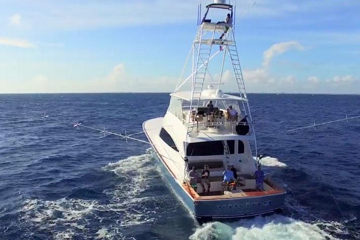 sportfishing yacht