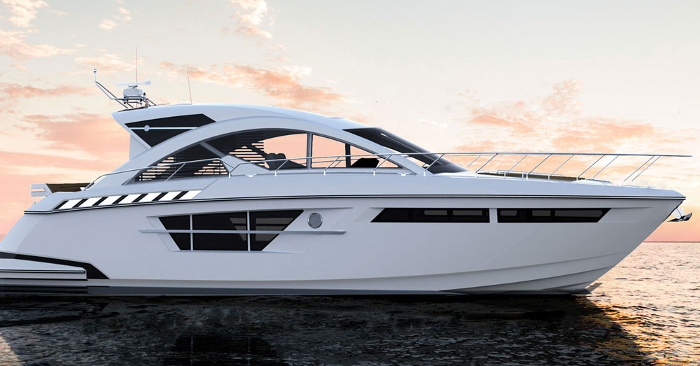 Inside? Outside? Either way, the Cantius 54 brings the two environments together.