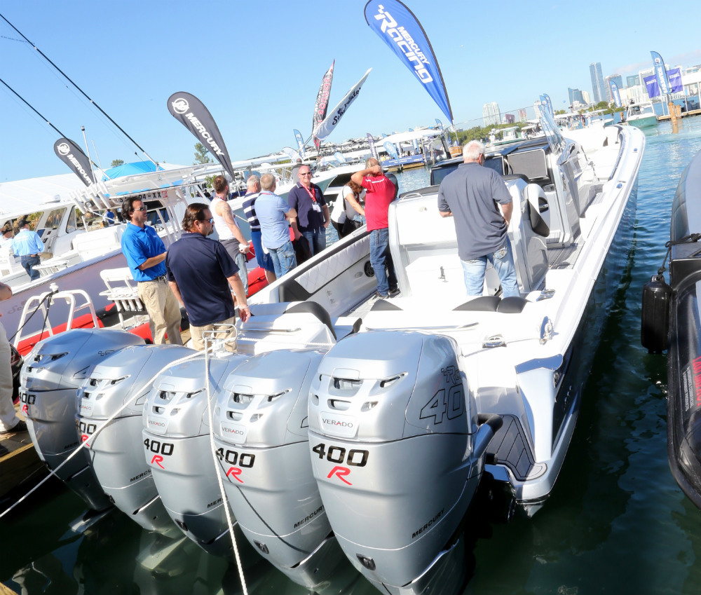 Nor-Tech's 45-foot center-console ran 88 mph right out of the gate.