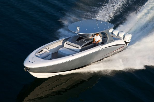 Whether you opt for three outboards or quads, the M4200 out-performs the competition—even with fewer horses.