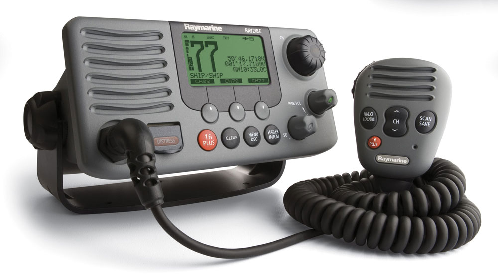 In the most boating situations, the VHF radio is your fastest, most reliable form of communications.