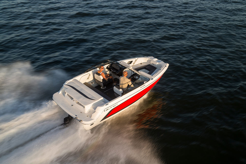 Bowriders come in all shapes and sizes; their defining characteristic is an open bow cockpit with seating.