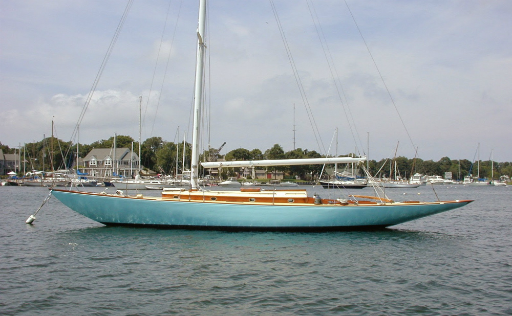 What's the maintenance budget like for a classic sailboat with lots of wood to paint and varnish, plus spars, rigging, auxiliary engine, and complex systems belowdecks? If you have to ask, you can't afford it. Doug Logan photo.