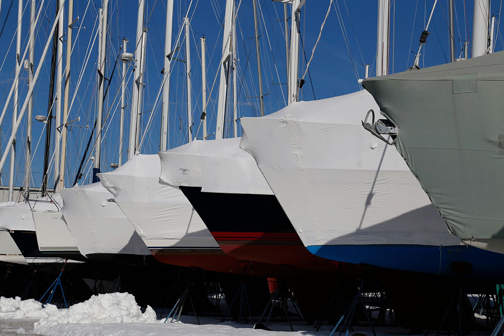 Though the boat may be packed up tight, there are still plenty of jobs you can get done over the winter.
