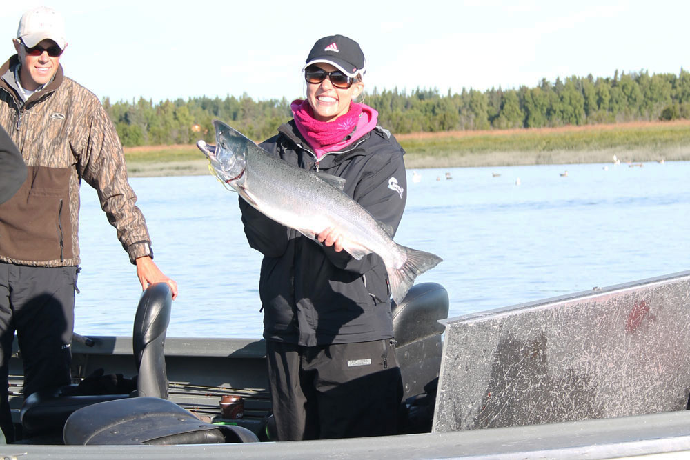 This is a Kenai River silver salmon, and it represents only one of the countless opportunities Alaska provides.
