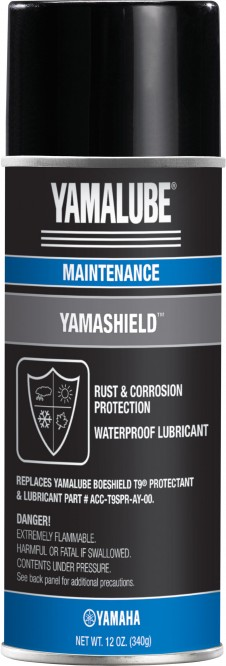 Heavy corrosion inhibitors like Yamashield dry to a wax-like coating that typically lasts about three months.