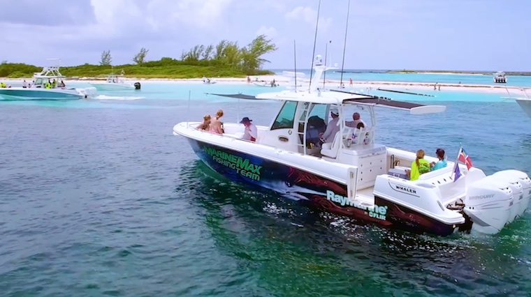MarineMax stages Getaways events from every one of their stores, including trips to the Bahamas.