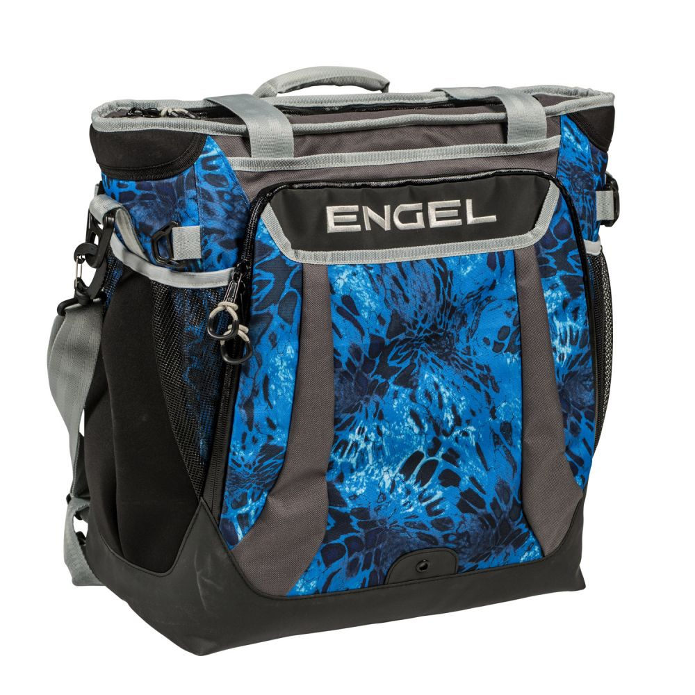 Whatever beverages you like to imbibe on the boat, the new Engel Backpack Cooler will keep them frosty.