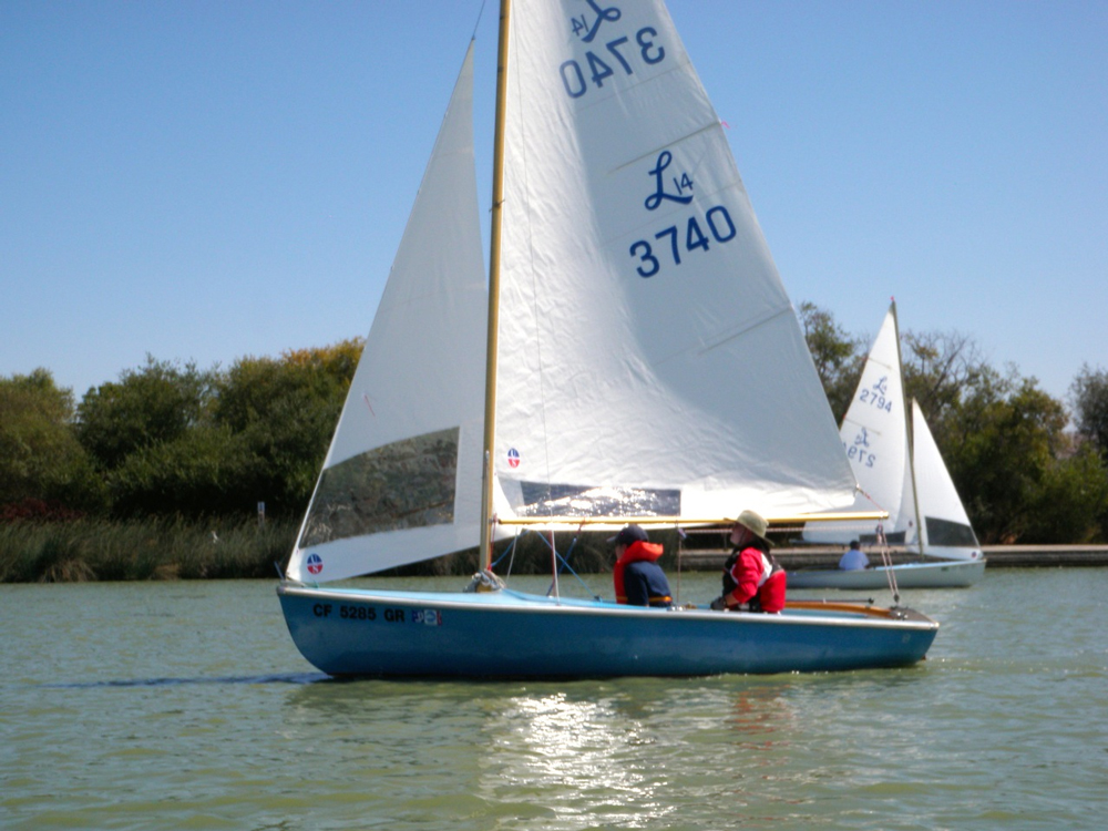 A Lido 14 is a daysailer than many people get their start on.