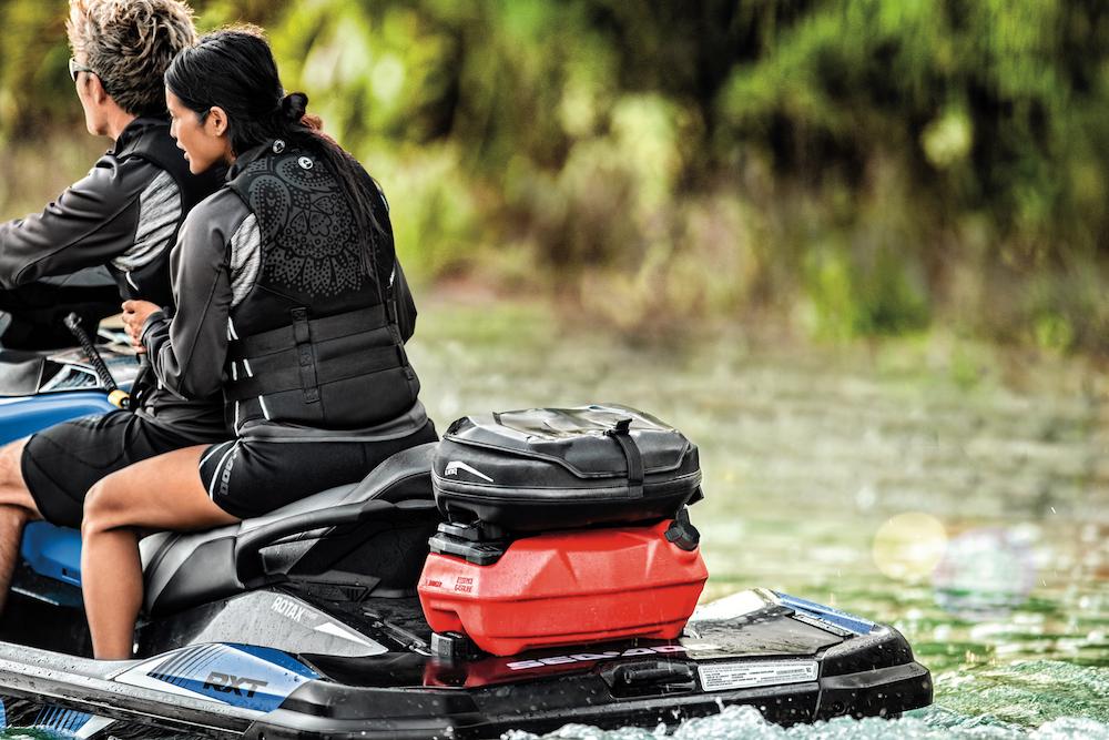 2018 Sea-Doo fuel caddy and bag