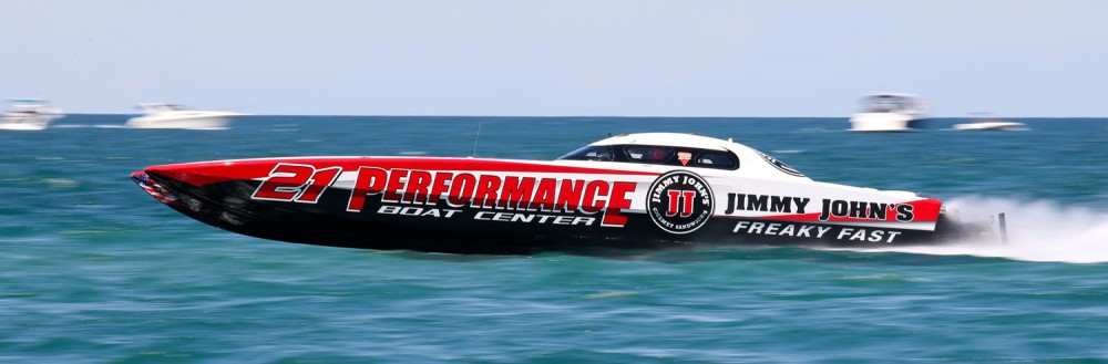 Performance Boat Center will be the Superboat-class team to beat in Key West next month. Photo by Pete Boden/Shoot 2 Thrill Pix.