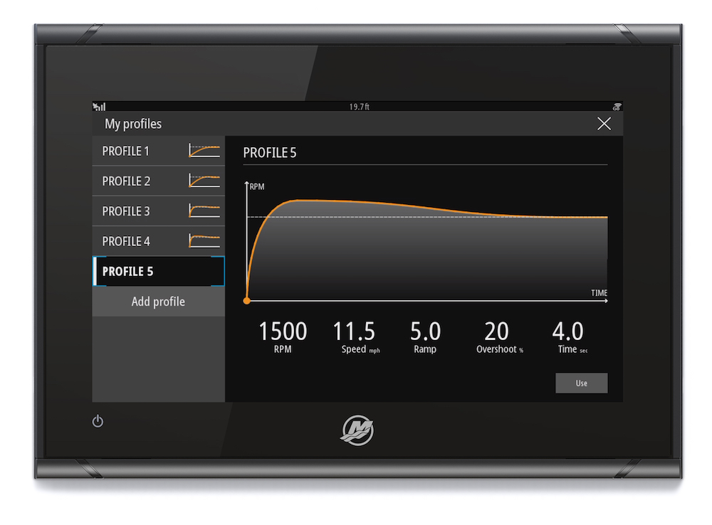 VesselView903 features a 16-by-9-inch touch screen, the largest display yet from Mercury Marine.