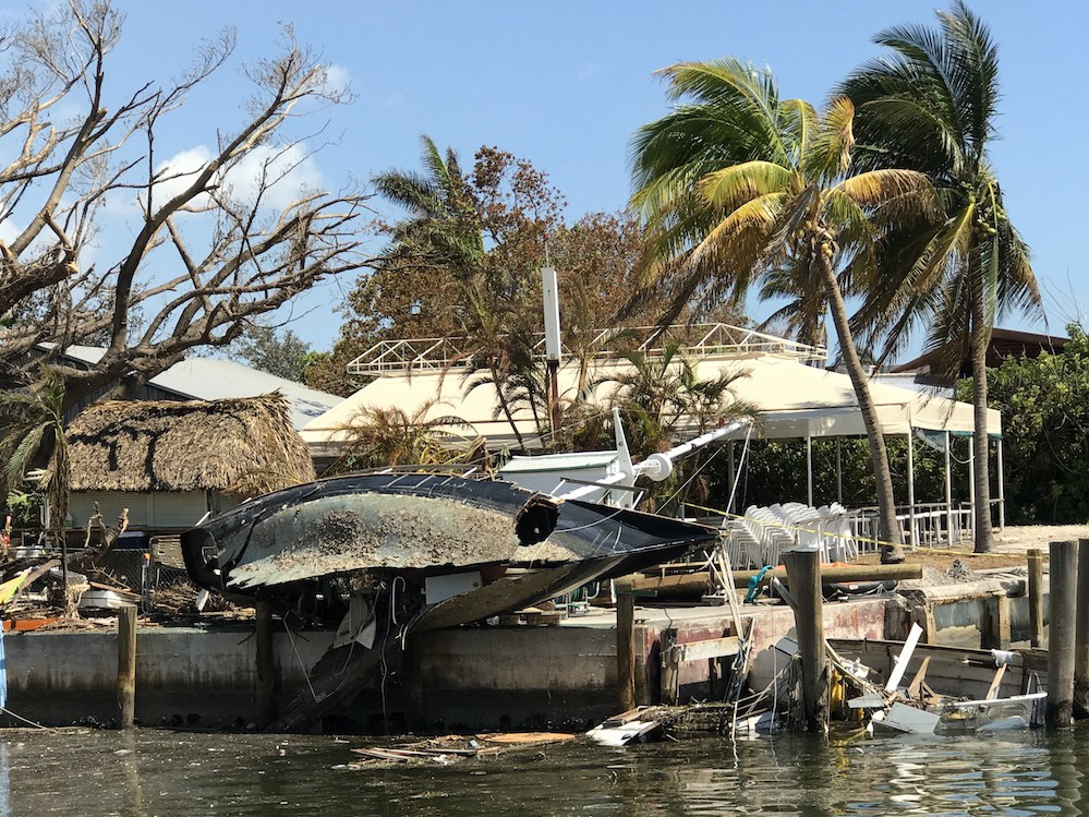 Unfortunately, there were more than a few hurricanes that left their mark on the boating industry in 2017.