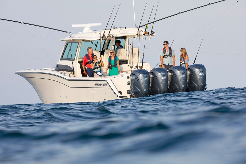 Grady-White Canyon 456: Boat of the Month Sit-Down with Center Consoles Only thumbnail
