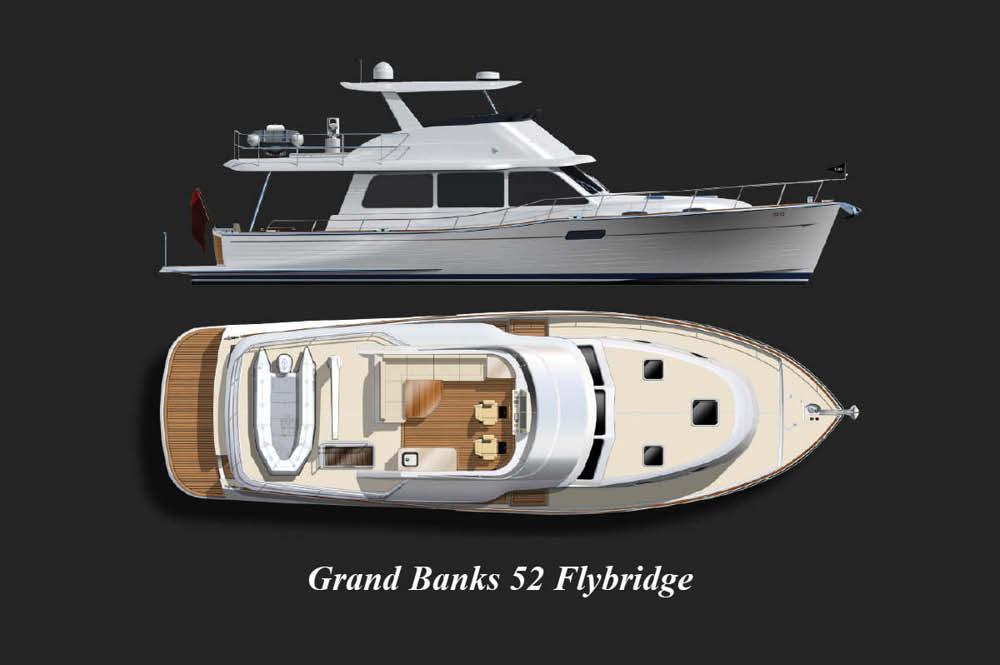 Grand Banks 52 Flybridge