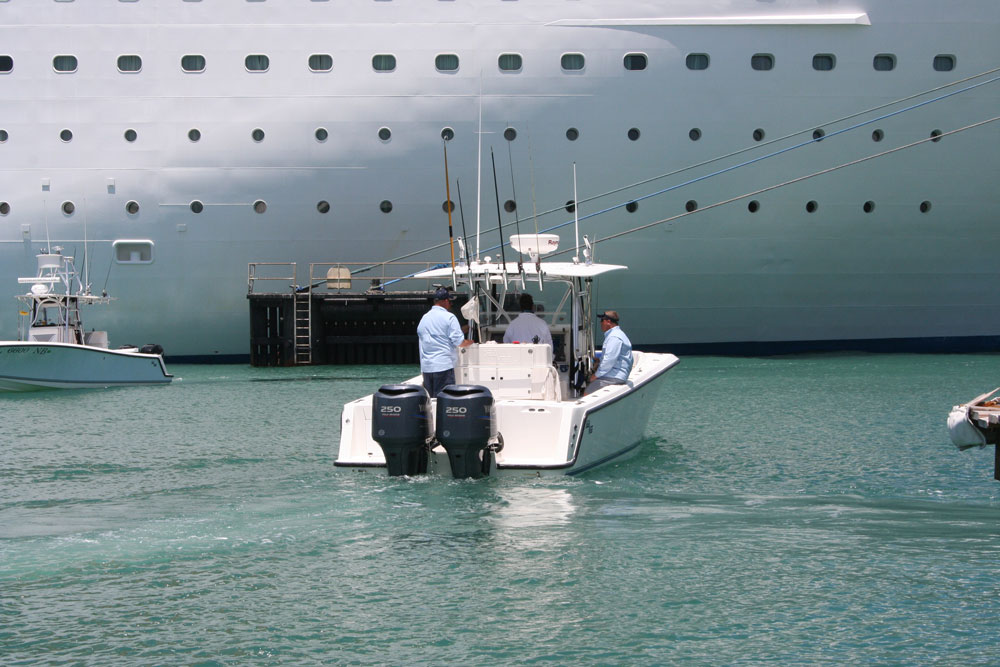 You may have to dodge a cruise ship or two, but once you clear the harbor at Key West, you're in store for world-class offshore fishing.