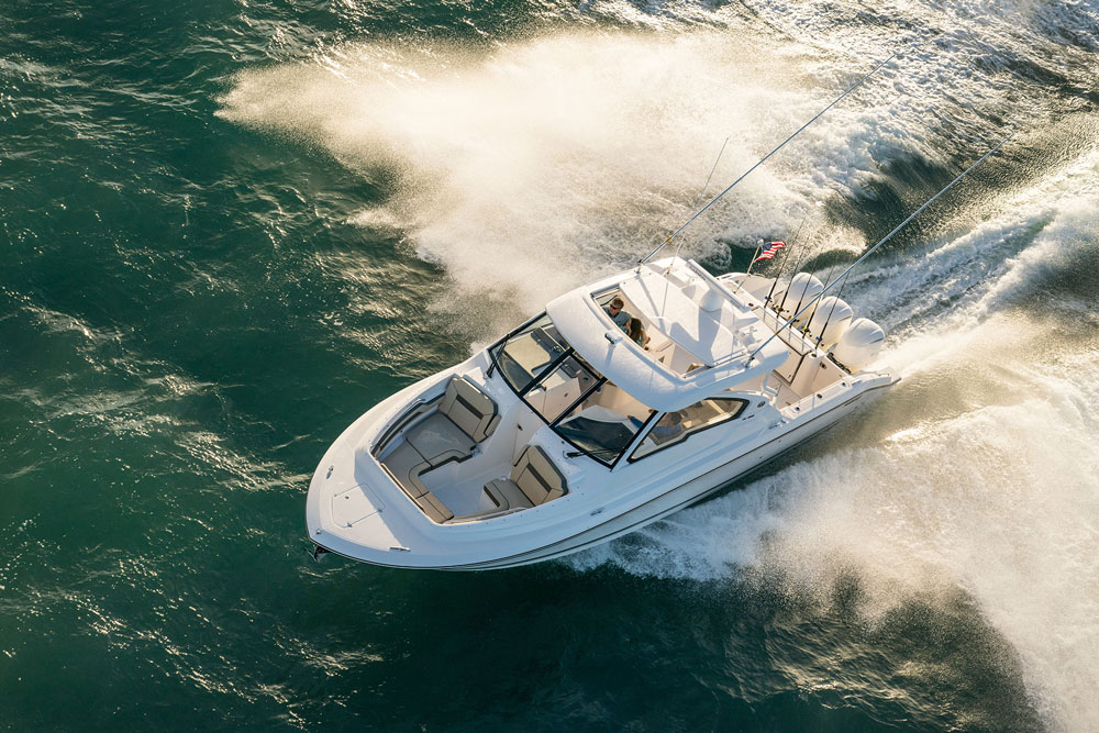 Whether you're going fishing or cruising, the DC 365 is designed to fit the bill.