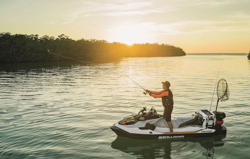 New Sea-Doo Fish Pro Revealed