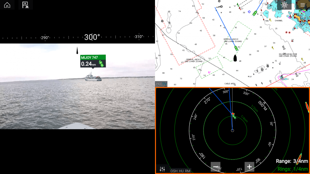 Raymarine Launches Augmented Reality with ClearCruise
