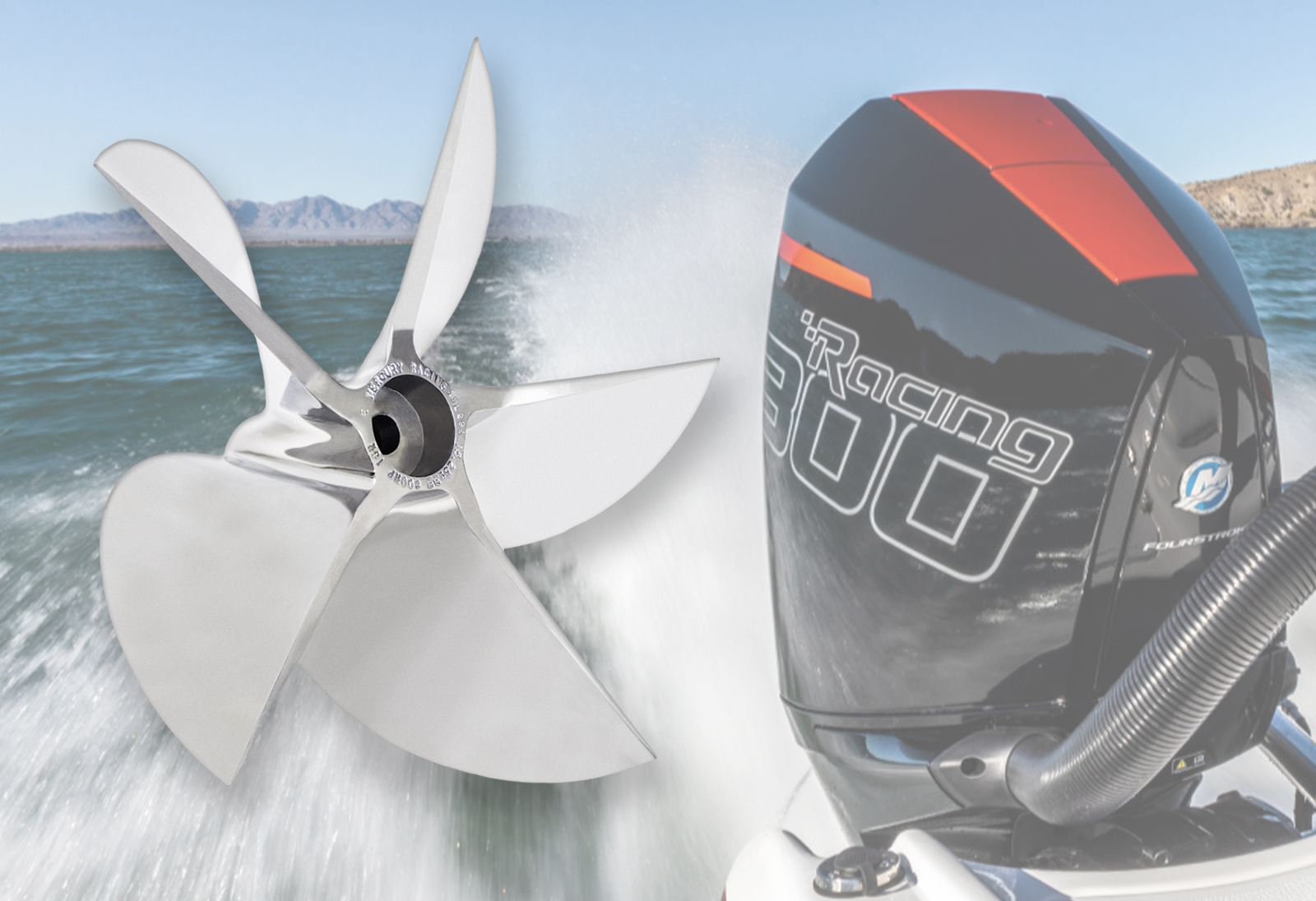 Mercury Releases New 300-HP CNC Cleaver Propeller