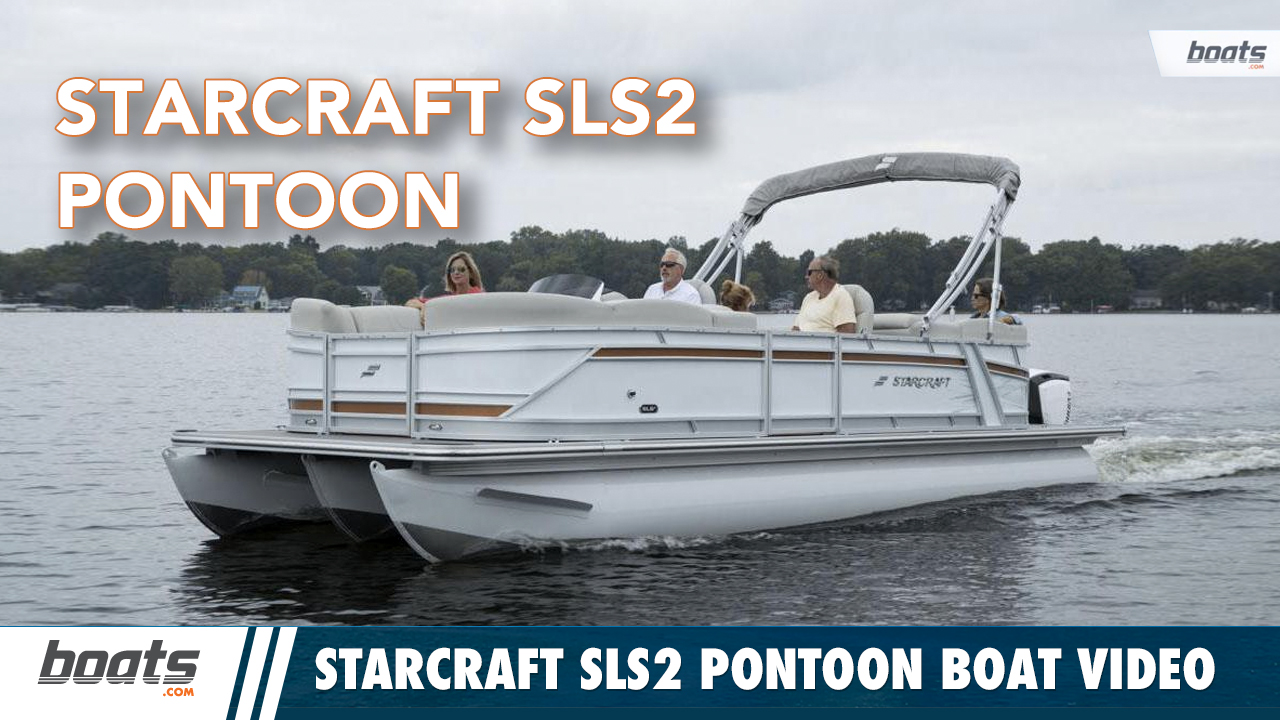 Starcraft SLS2 Pontoon Boat Walkthrough Video