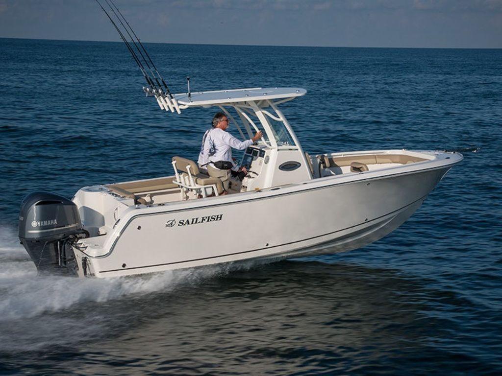 Sailfish 241 Center Console Boat Review thumbnail