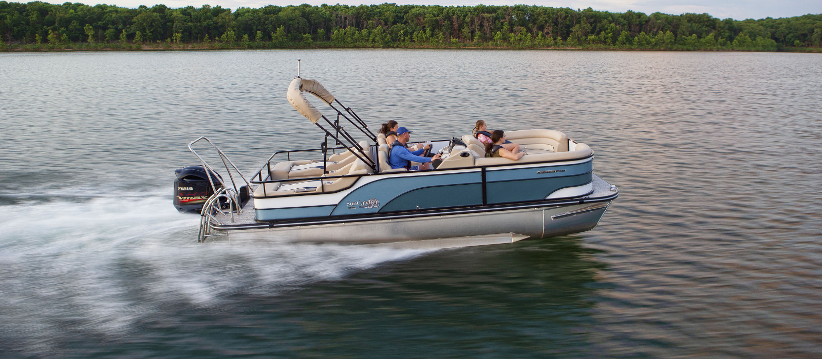 SunCatcher 322 SS Pontoon Boat Review