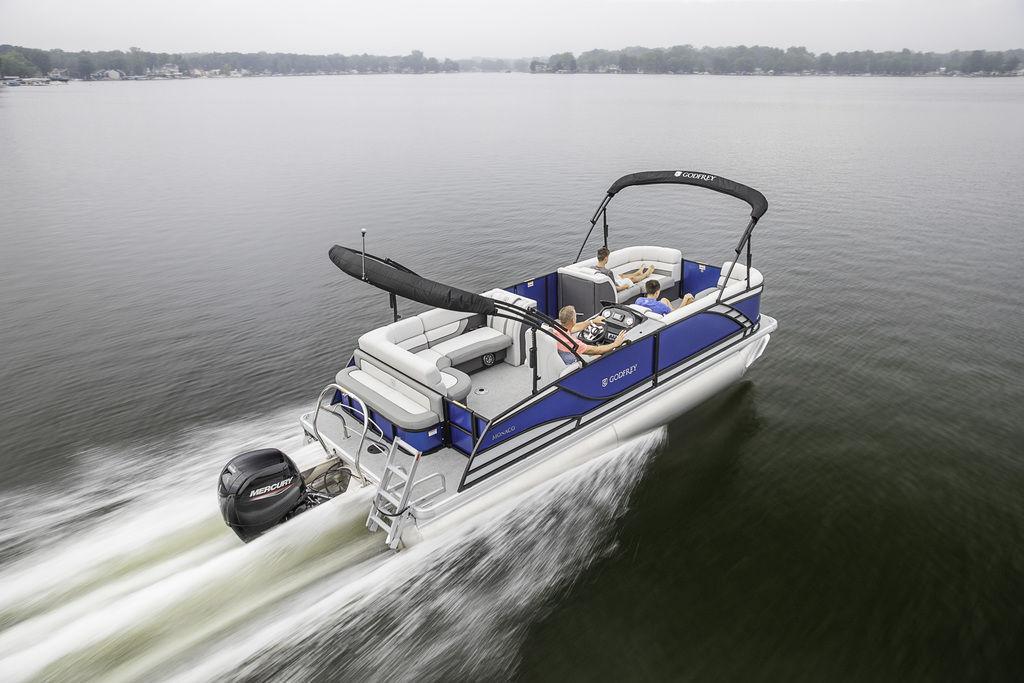 Godfrey Monaco 235 C Pontoon Boat Walkthrough Review