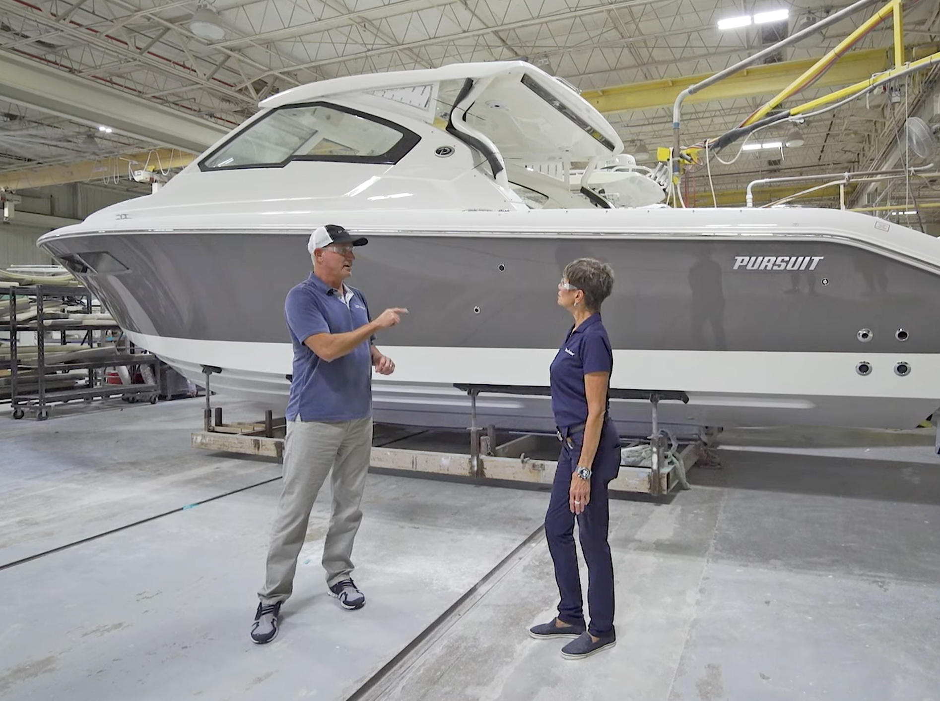 Factory Fridays: Unveiling Pursuit Boats' Renowned Construction Process