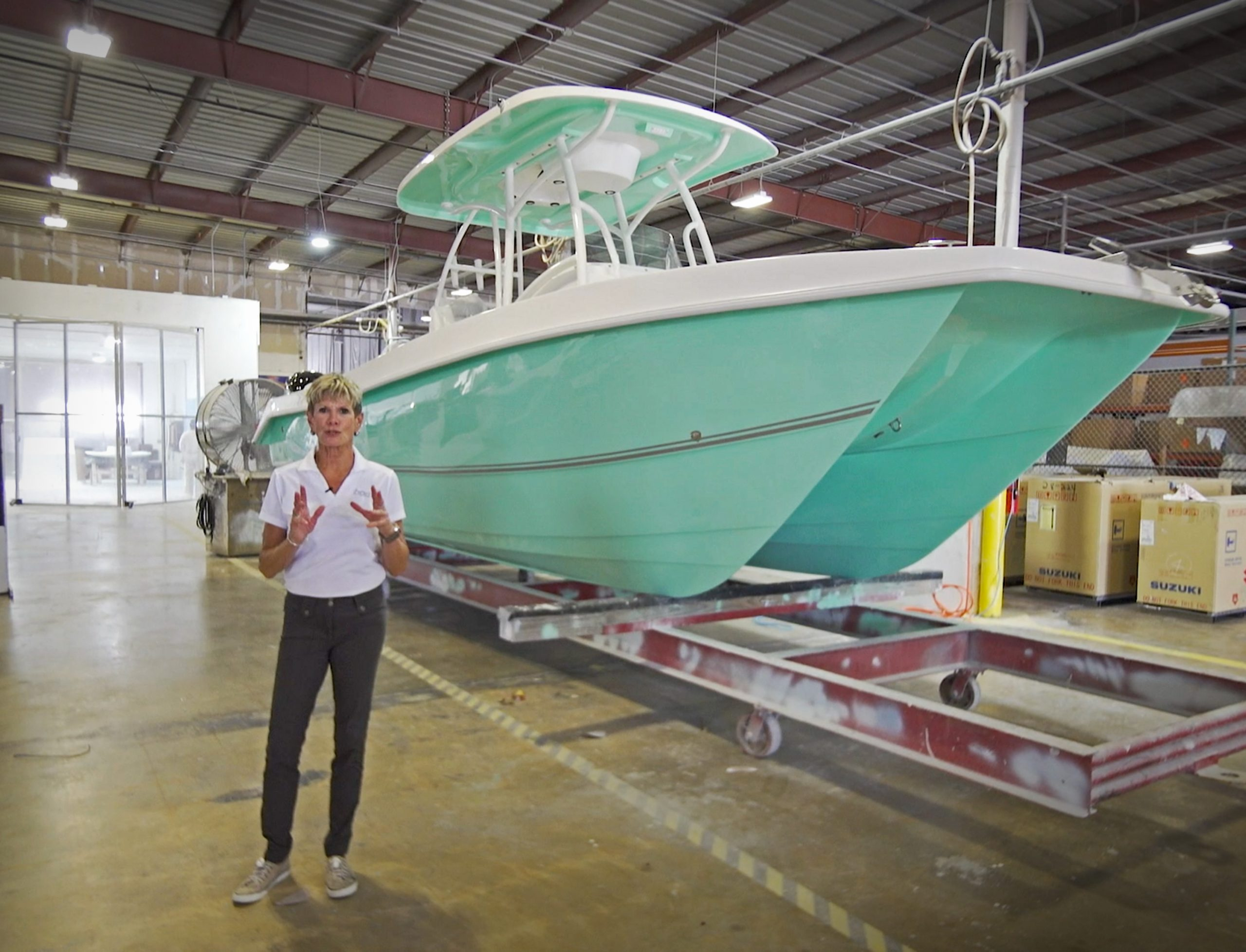 Factory Fridays: Twin Vee PowerCats Pioneers Boat Building Innovations thumbnail