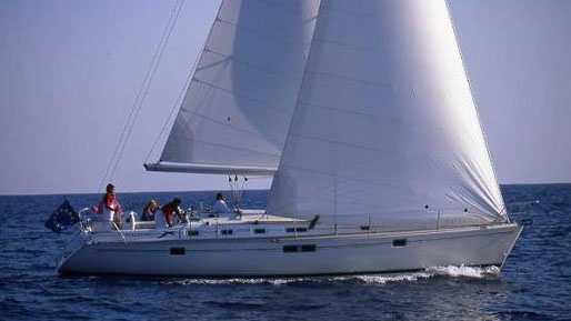 The Beneteau Oceanis 440.