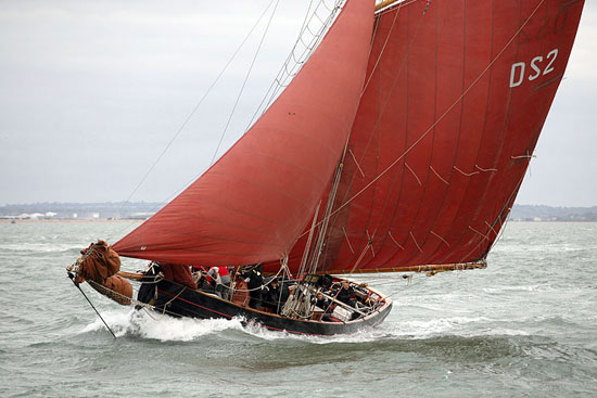 Jolie Brise, built in 1913 and still going strong. Photo courtesy of Dauntsey's School/Jolie Brise