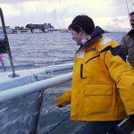 Ellen MacArthur christens Ocean Planet