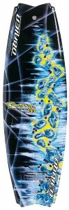 O'Brien's Swindle is among the top swallow-tail wakeboards on the market.