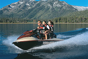 Thanks to a new hull that's well-matched to its four-stroke motor, the Sea-Doo GTX 4-TEC is an exceptional multi-rider cruiser.